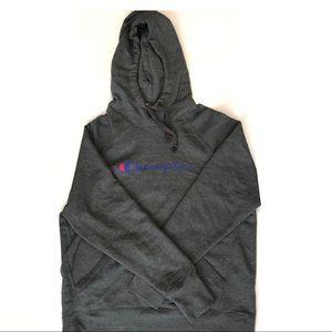 dark gray champion hoodie